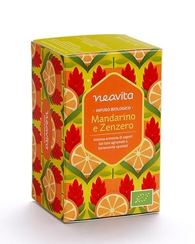 Infuso - Mandarino e zenzero - Neavita | Erboristeria Erbainfusa Como | Shop Online