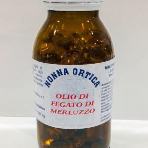 Perle - olio di fegato di merluzzo - Nonna Ortica   Erboristeria Erbainfusa Como   Shop Online