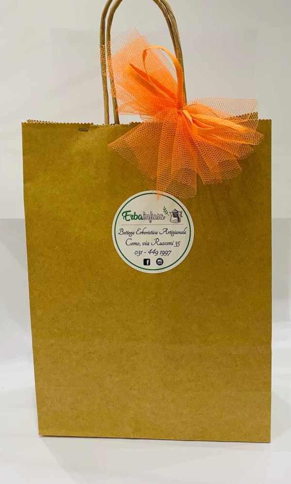 Sacchetto regalo - Erbainfusa | Erboristeria Erbainfusa Como | Shop Online