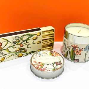Candela di soia - fiori - Erbainfusa | Erboristeria Erbainfusa Como | Shop Online
