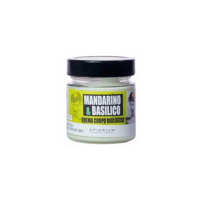 Crema corpo - mandarino e basilico - Apiarium | Erboristeria Erbainfusa Como | Shop Online