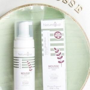 Mousse detergente viso - Nature Up | Erboristeria Erbainfusa Como | Shop Online