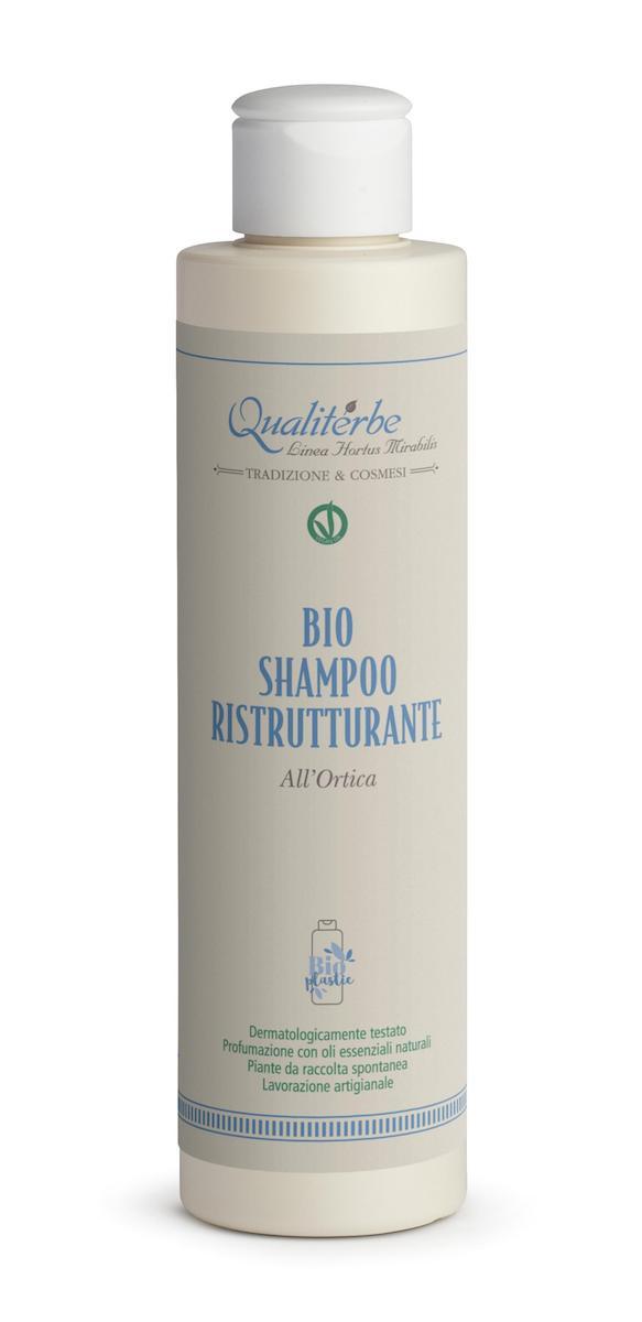 Shampoo ristrutturante al succo d'ortica - Qualiterbe | Erboristeria Erbainfusa Como | Shop Online