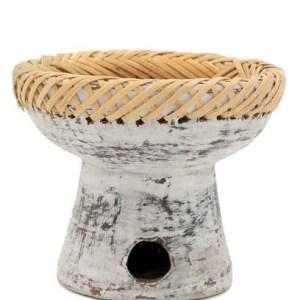 Bruciaessenze terracotta con corda - Erbainfusa | Erboristeria Erbainfusa Como | Shop Online