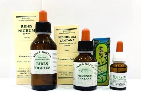 Kit allergia - asma allergica - collirio - Erbainfusa | Erboristeria Erbainfusa Como | Shop Online