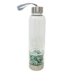 Bottiglia elisir - Avventurina Grezza - Cristalli del benessere | Erboristeria Erbainfusa Como | Shop Online