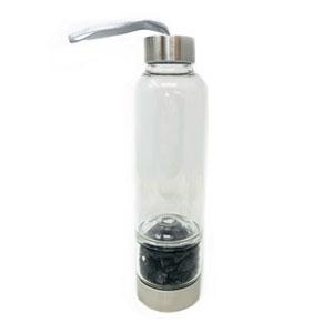 Bottiglia elisir - Tormalina nera - Cristalli del benessere | Erboristeria Erbainfusa Como | Shop Online