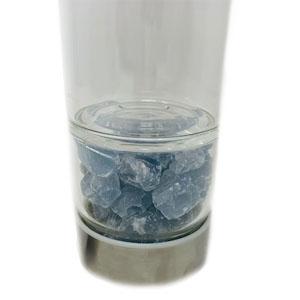 Bottiglia elisir - celestina grezza - Cristalli del benessere