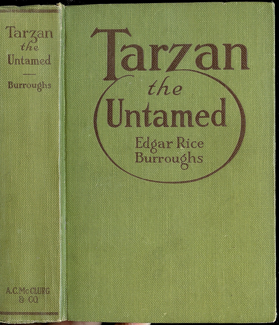 Tarzan Untamed First Edition