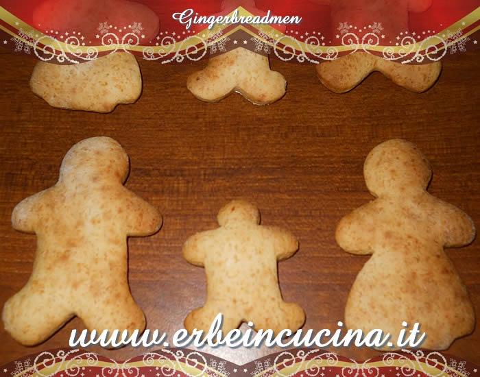 Omini di pandizenzero (Gingerbreadmen)