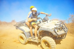 Vierradmotorrad - Türkische Wüste