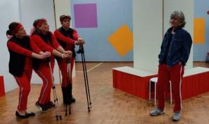 """Muziektheatergroep Flirt speelt de voorstelling """"Verkeerd verbonden"""" @ Musiater"""