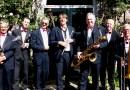 8 man sterk jazzorkest in de Kruisberg