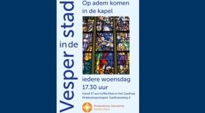 Vesper in de stad, op adem komen in de kapel @ Driekoningenkapel