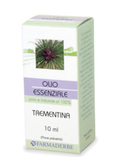 Olio Essenziale Di Trementina Pinus Palustris 10 Ml