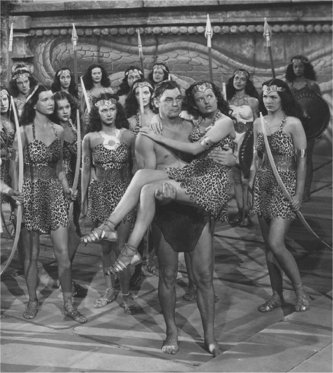 Erbzine 0625a Gallery Tarzan And The Amazons