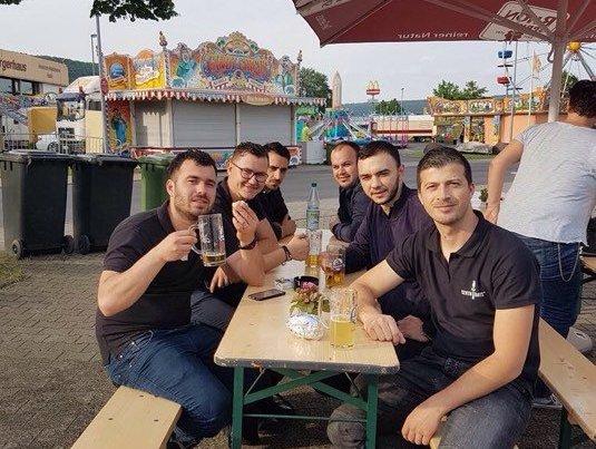 Grupi i djemve te punesuar ne Fulda Gjermani