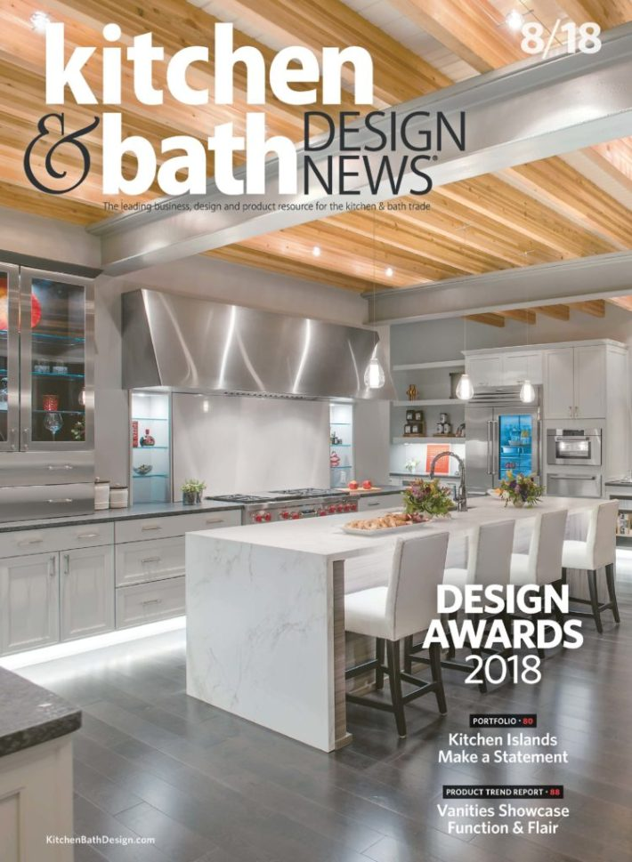 Miraculous Hunter Kitchen Bath Design On Cover Of Industrys Top Interior Design Ideas Inamawefileorg