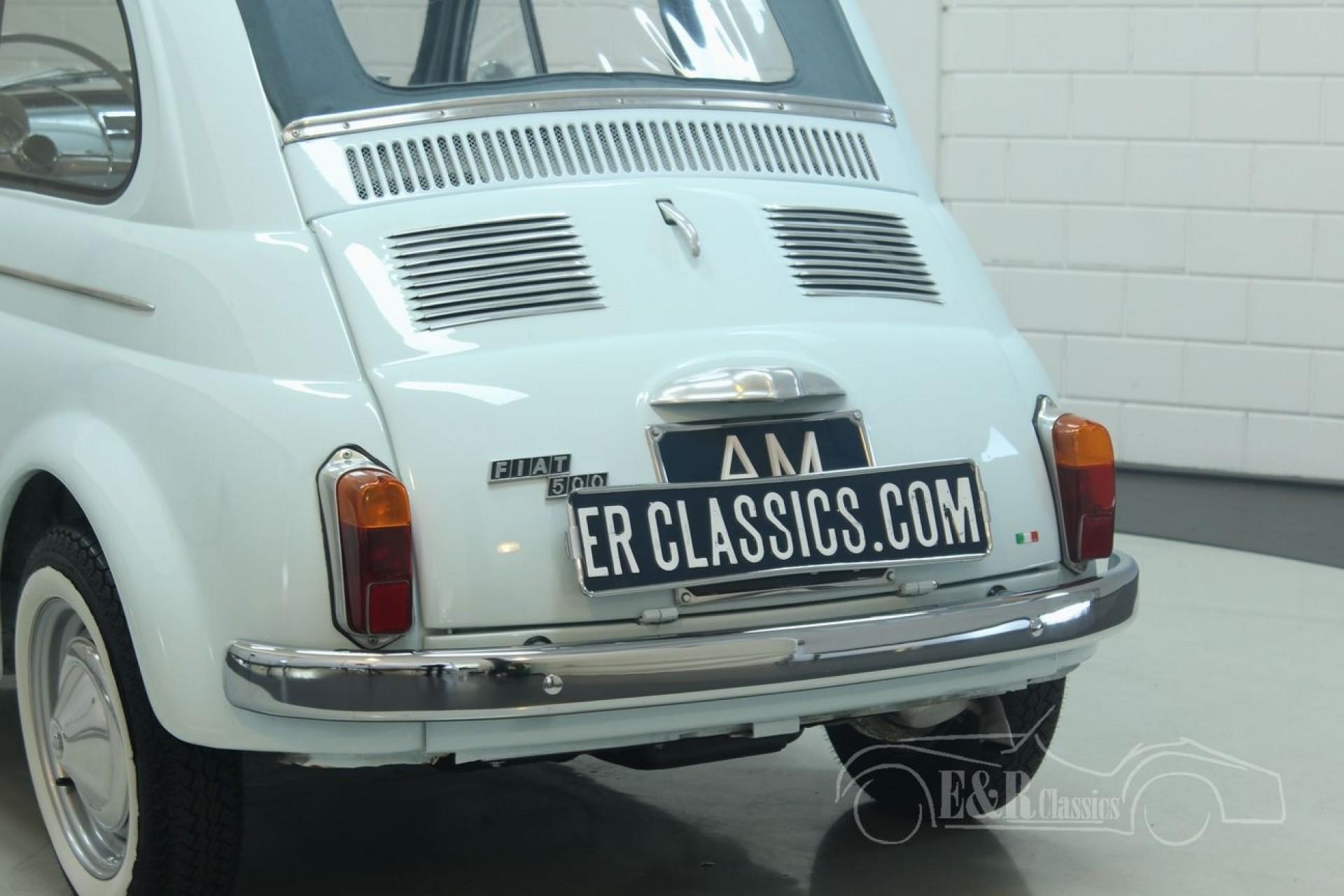 fiat 500 d 1962 for sale at erclassics