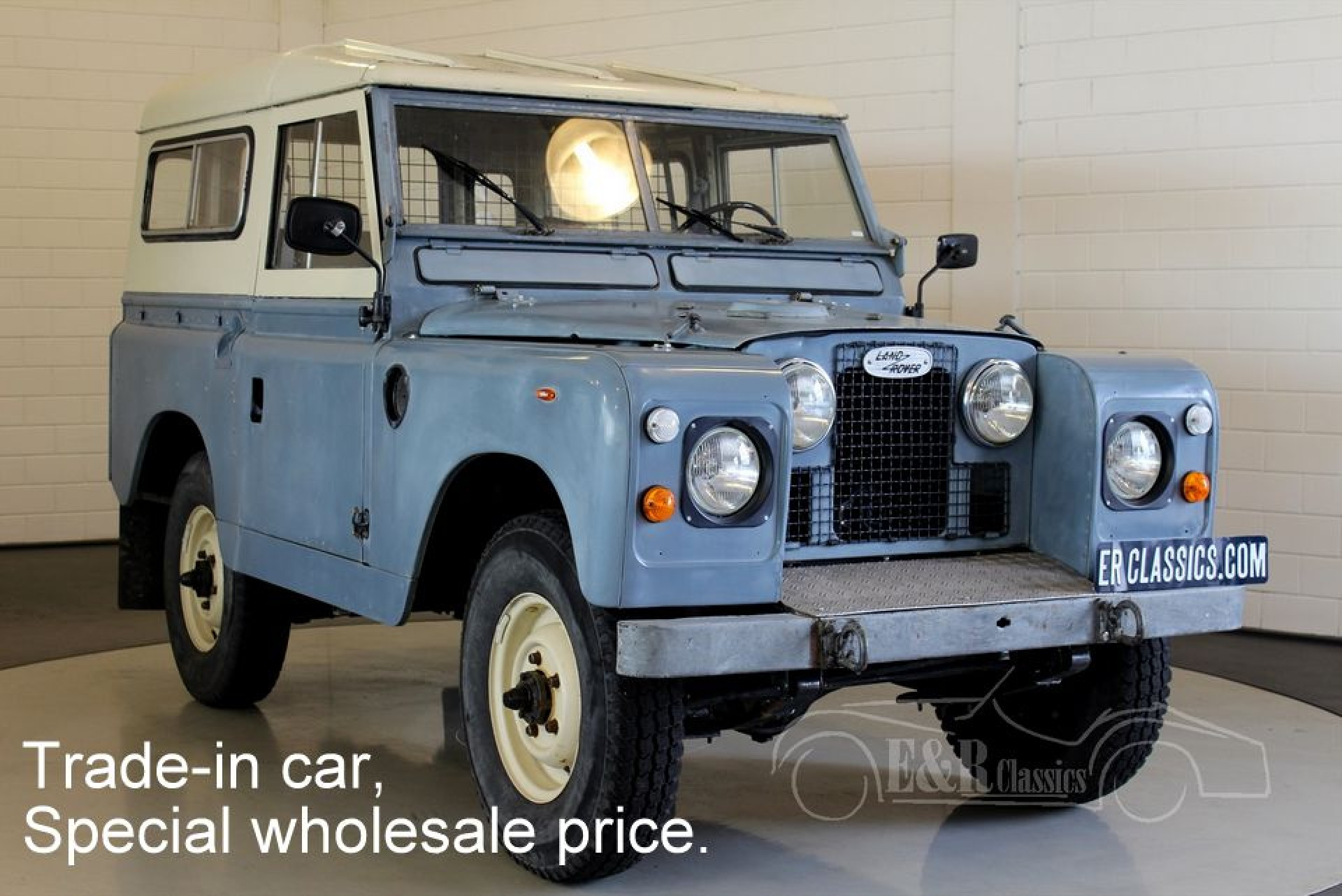 Land Rover 88 Series II A 1963 for sale at ERclassics