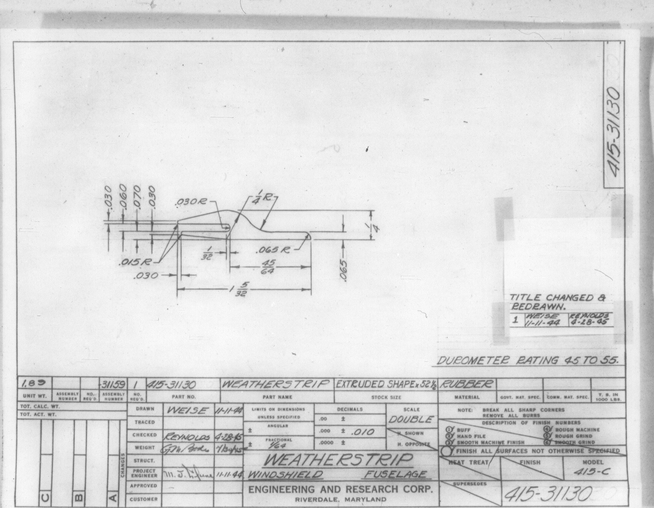 Ercoupe Info Drawings