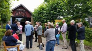 Im Anschluss  erfuhr die Jury Entente Florale Europe alles Wissenswrte über das Dorf Wangerland und das Wangermeer.
