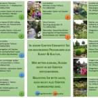 Programm Gartenspaziergang