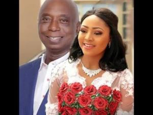 Regina Daniels and Ned Nwoko wedding image. www.eremmel.com