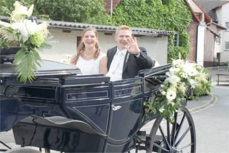 Kutschfahrten Odenwald Hochzeitskutschen
