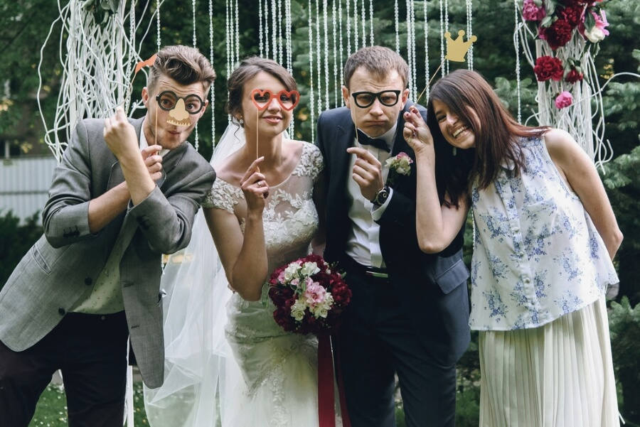 Alternatives Hochzeitsgastbuch Des Puzzlespiels Hashtags