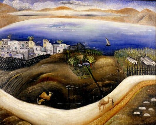 ראובן רובין - כנרת, 1926-8