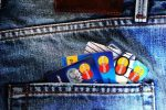 cards in pocket