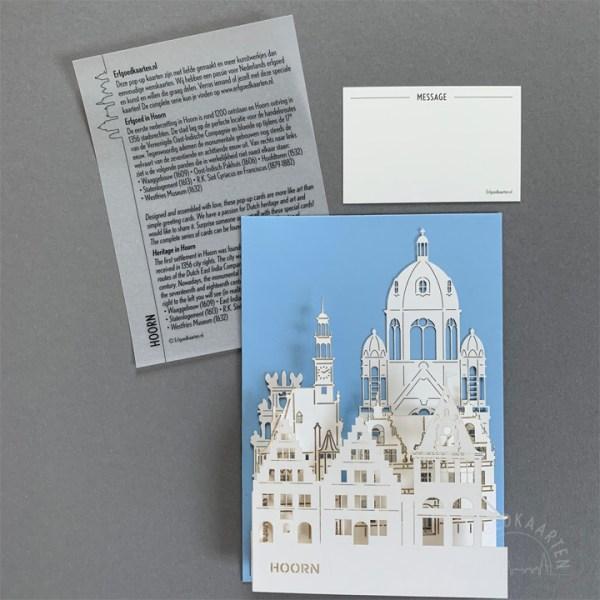 pop-up kaart erfgoed hoorn