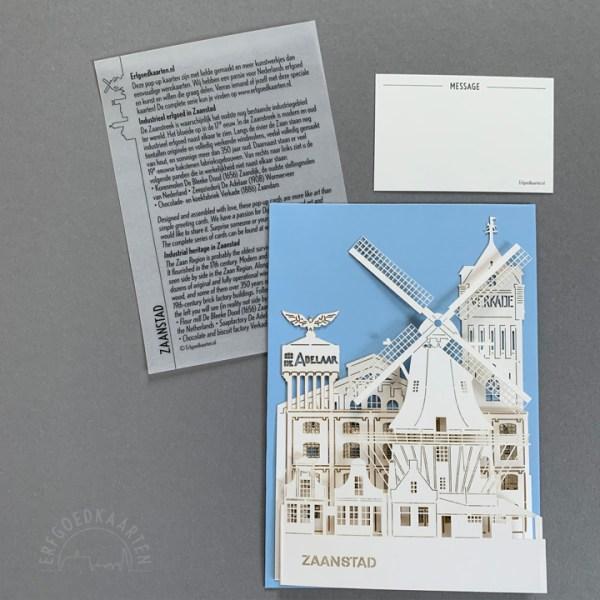 Pop-up kaart Zaandam Zaanstad