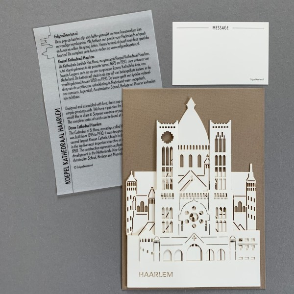 Pop-up kaart Haarlem