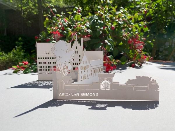 pop-up kaart monumenten Abdij van Egmond