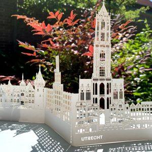 Pop-up kaart Utrecht