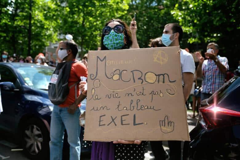 Γαλλία-Οι ζωές μας αξίζουν περισσότερο από τα κέρδη τους: δωρεάν μάσκες για όλους!