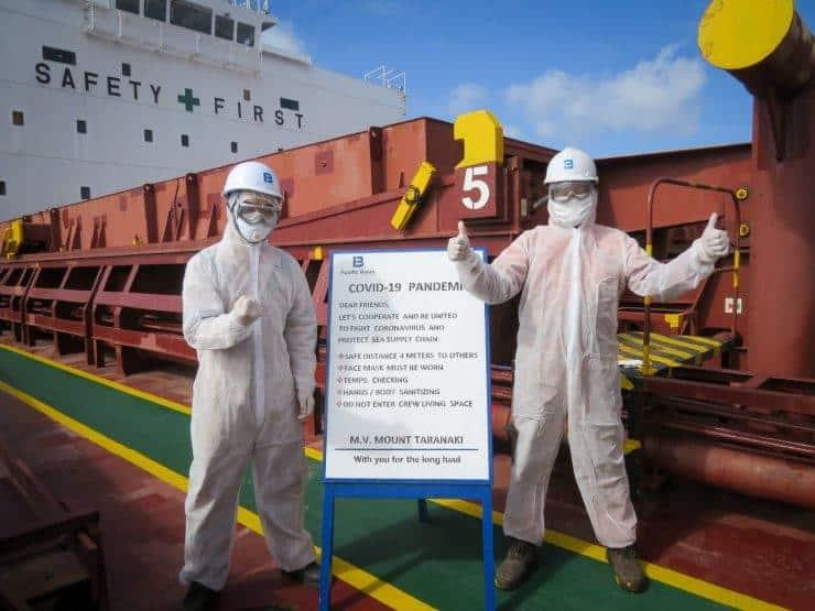Aνθρωπιστική κρίση με τους ναυτικούς – Πεθαίνουν πάνω στα πλοία από κορωνοϊό