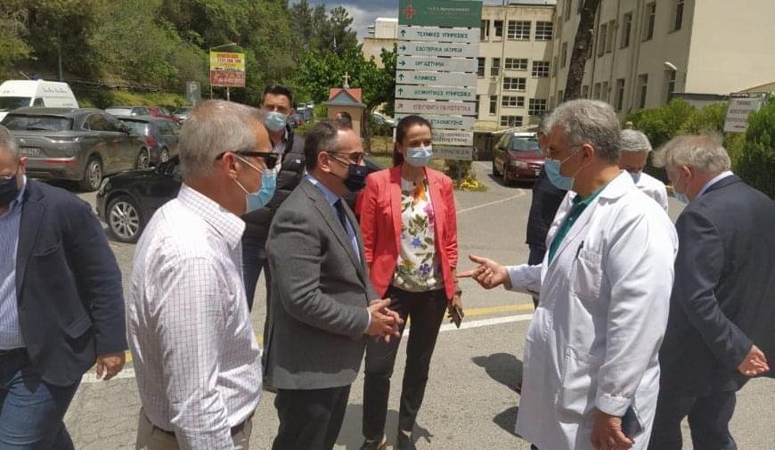 Κοντοζαμάνης: «Έχουν γίνει ήδη 10.000 προσλήψεις» , το ΕΣΥ άντεξε στην πανδημία
