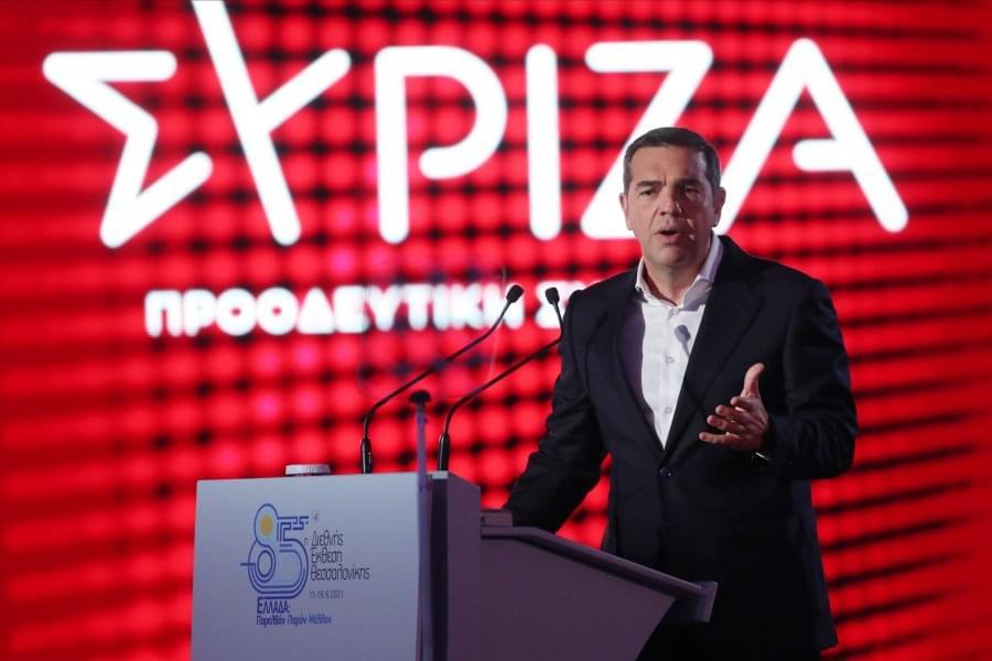 Τσίπρας από τη ΔΕΘ: Κατέθεσε κυβερνητικό πρόγραμμα με έμφαση στα εργασιακά, τη λειτουργία του κράτους και το ΕΣΥ