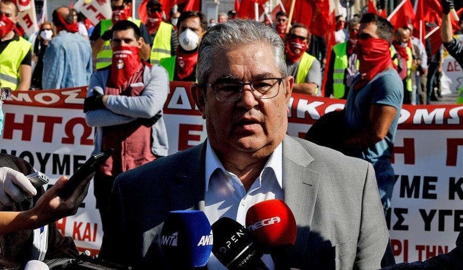 Δ. Κουτσούμπας: Μονόδρομος για τους εργαζόμενους είναι ο αγώνας