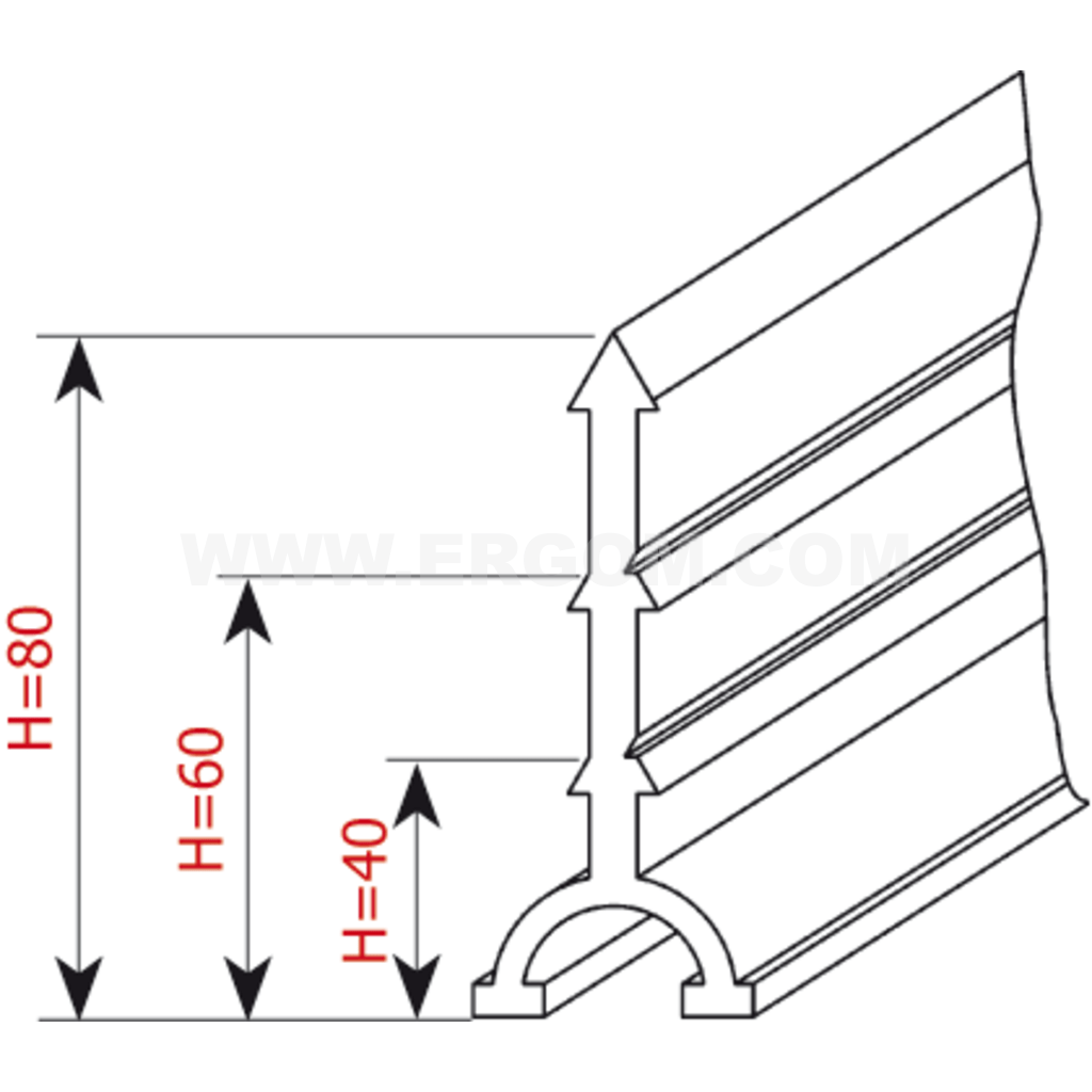 Separators Of Wire Groups In Ducts