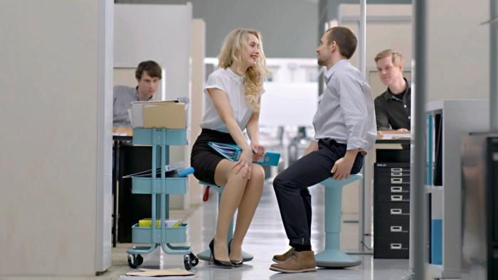 Der UPis1 ist ideal für spontane Besprechungen