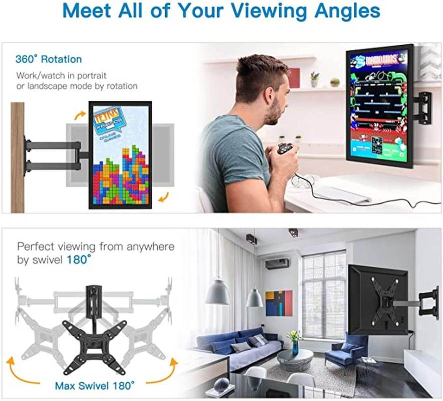 Wholesale Tilt TV mount meet all of your viewing angle