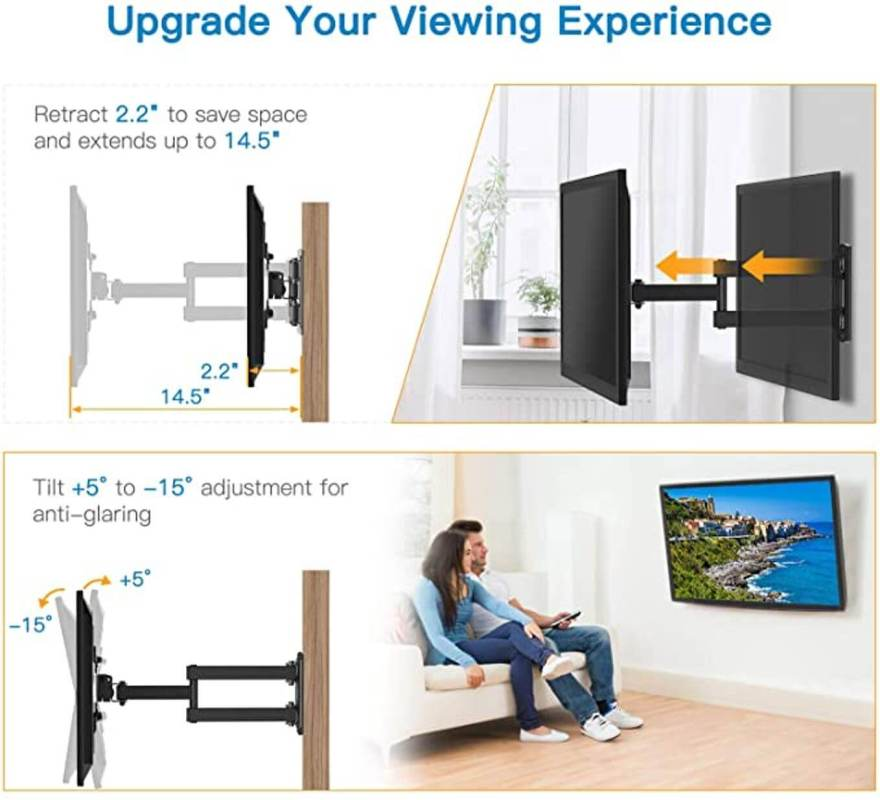 Tilt TV mount upgrade your viewing experiences