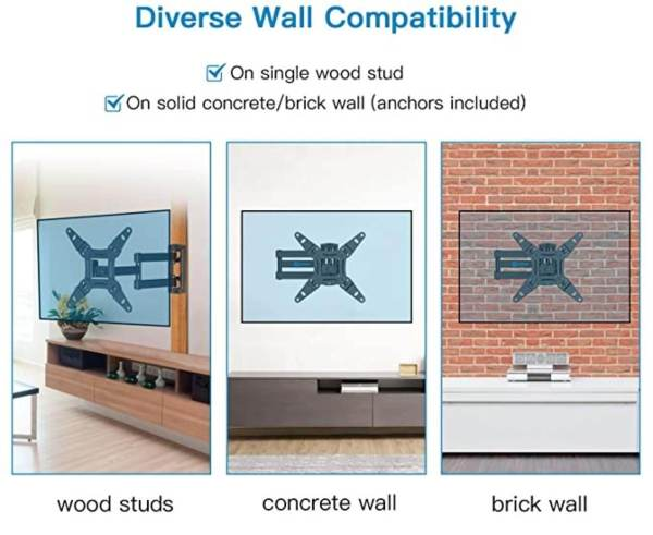 wholesale tv stand with bracket diverse wall compatibility