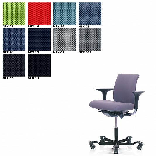 HAG H05 5100 Chaise De Bureau Tissu Nexus