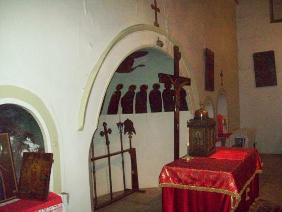 14-Edirnekapı Aya Yorgi Kilisesi Apsisin içi ve Altar Masası