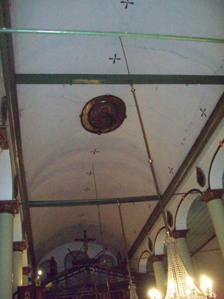 21-Edirnekapı Aya Yorgi Kilisesi Orta Nefi Örten Beşik Tonoz